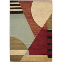 Porcello Waves Contempo Rug (8' x 11' 2) | Overstock.com Shopping - Great Deals on Safavieh 7x9 - 10x14 Rugs
