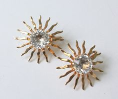 Sarah Coventry Dainty Fascination Earrings by PastSplendors