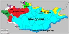 Languages of Mongolia. Languages of Mongolia. Semitic Languages, Alternate History, Historical Maps, Geology, Travel Usa, Flag, Culture, Learning, Logos
