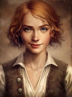 Two of my characters, twins, are androgynous. They could have this face. The hair and skin color would need to change.