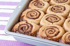 gluten free cinnamon buns from leanne vogel
