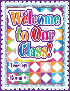 Welcome Quilt Friendly Chart