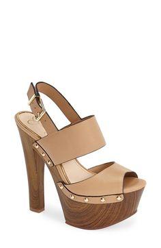 SIZE 7 Jessica Simpson 'Dallis' Platform Sandal (Women) available at Shoe Boots, Shoes Heels, Sexy Heels, High Heels, High Platform Shoes, Sandals Platform, Jessica Simpson Sandals, Caged Sandals, Studded Sandals
