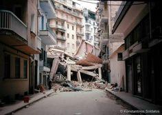 Σεισμός 1978 Greece History, Thessaloniki, Macedonia, The Past, Nymph, Uber, Ghosts, Historia, Greece