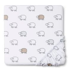 Circo® Woven Fitted Crib Sheet - Sheep & Co.