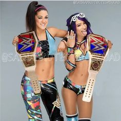 The Futures Women's Tag Team Champion in 2019 !