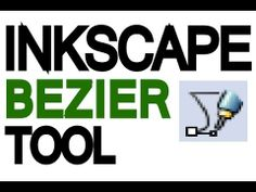 Inkscape Tutorial - Bezier Tool - YouTube