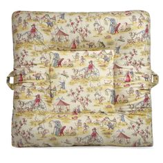 This pattern has an adorable carnival scene with animals and people walking around. Please note: a slipcover is like a pillow case that is a protective cover to a LaLaLounger.