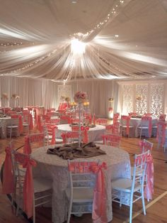 Completely redecorate an LDS cultural hall for a wedding reception