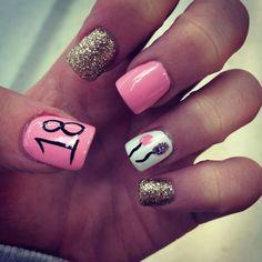 18th Birthday Nails