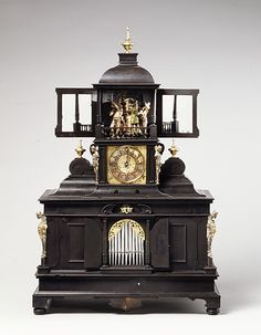 Musical Clock with Spinet and Organ Veit Langenbucher (1587 - 1631)