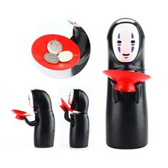 Spirited Away Kaonashi No Face Piggy Bank Toy Multi Styles Miyazaki Hayao Design Automatic Eaten Coin Bank Creative Sound Toys-in Action & Toy Figures from Toys & Hobbies on Aliexpress.com | Alibaba Group