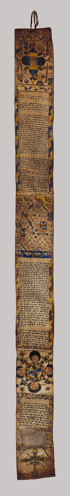 Healing scroll [Ethiopia] (2012.5) | Heilbrunn Timeline of Art History | The Metropolitan Museum of Art