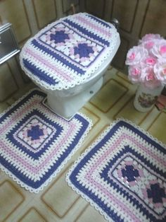 Astonishing 160 Best Crochet Bathroom Decor Images In 2019 Crochet Gmtry Best Dining Table And Chair Ideas Images Gmtryco