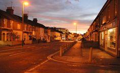 イギリス・ハンプシャー州の旧式街灯(ナトリウムランプ) http://hikarigai.net/mediablog/?eid=217