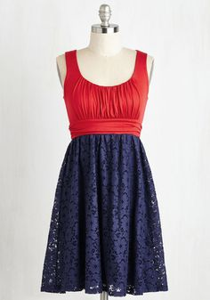 Artisan Iced Tea Dress in Cherry-Blueberry, @ModCloth
