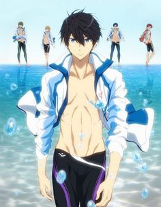 Movie Timeless Medley - Kizuna Sub Español - MonosChinos Slice Of Life, Anime Manga, Anime Guys, Japanese Free, Swimming Anime, Splash Free, Free Eternal Summer, Comedy, Free Iwatobi Swim Club