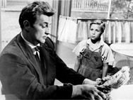 """The Night of the Hunter ~ The TCM page for """"The Night of the Hunter."""" Robert Mitchum is so convincingly evil, I've never liked him since!"""