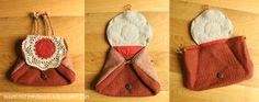 Raumstation Vokuhila, DIY, fantasy bag / pouch, inspired by Daenerys Targaryen, Khaleesi, dragon