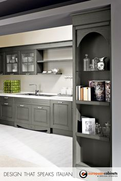 The Imperial custom kitchen collection can be as modern as you like.