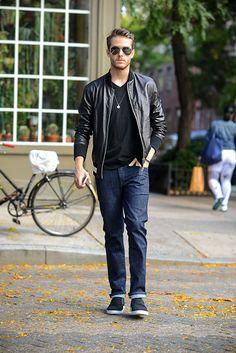#jeans #jacket #black #streetstyle #style #menstyle #manstyle #menswear #fashion #mensfashion