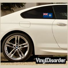 Cayman islands Flag Sticker Car Or Wall Vinyl Decal