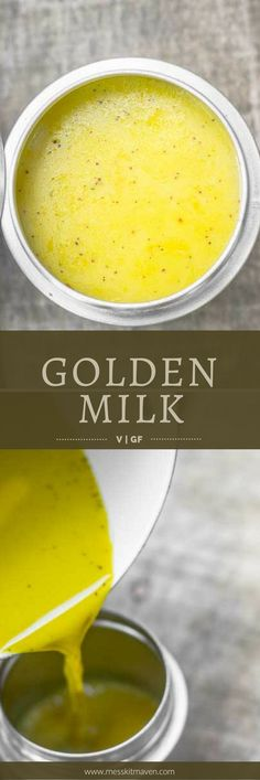 With turmeric and its anti-inflammatory properties, this vegan Golden Milk is the perfect accompaniment to your outdoor adventure. Backpacking Food, Camping Meals, Baker Recipes, Vegan Recipes Easy, Plant Based Milk, Golden Milk, Winter Drinks, Stuffed Hot Peppers, Clean Eating