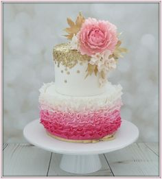 Pink & Gold by Jo Finlayson (Jo Takes the Cake)