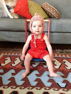 Misha + Puff - playsuit + hat