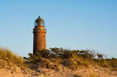 #Leuchtturm Darßer Ort nahe #Prerow auf Fischland-Darß-Zingst Foto: kentauros / Fotolia #meckpomm #darss #ostsee #seefahrt