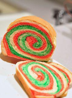 Pretty rolled bread! #BlueRibbonBread