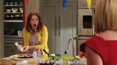"Pin for Later: 28 Times Unbreakable Kimmy Schmidt Made You Laugh Out Loud When ""a Million Bucks"" Doesn't Quite Cut It"