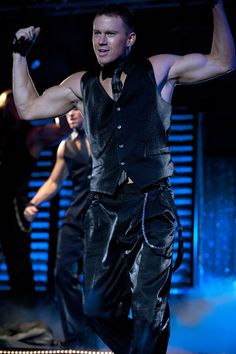 "With Magic Mike, the ""guns"" are always out!"