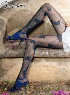 See the largest selection of Trasparenze hosiery. UK Tights has the best Trasparenze fashion tights, stockings, hold-ups, socks and bodystockings. Nylons, Pantyhose Outfits, Pantyhose Heels, Stockings Heels, Tights Uk, White Tights, Colored Tights, Fashion Tights, Blue Hose