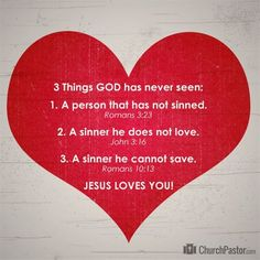 3 Things God Has Never Seen - Inspirations