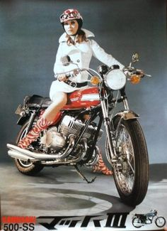 Kawasaki Mach III - I really do need to have one of these.