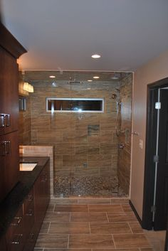 Bachelor Bathroom Renovation - contemporary - bathroom - atlanta - Studio M Interiors