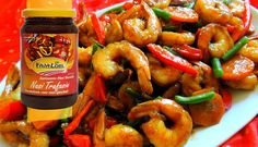 Surinaams eten – Surinaamse ketjap knoflook garnalen met mixgroenten