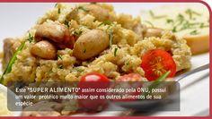 Receitas do Mundo da Quinoa
