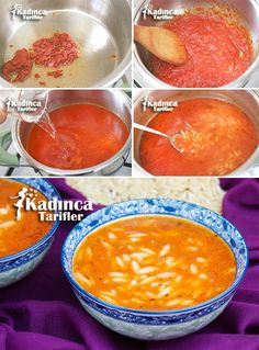 Turkish Recipes, Homemade Beauty Products, Perfect Food, Cantaloupe, Food And Drink, Health Fitness, Soup, Salsa, Vegan