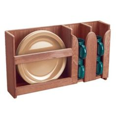 Whitecap Teak Dish/Cup Holder