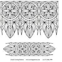 Chip Carving Pattern