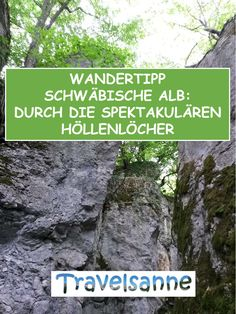 Now it is hiking spring on the beautiful Swabian Alb, so I will take you on a great circular hike from the St. Johann stud farm to the hell holes. # schwäbischealb Hiking season on the Swabian Jura: From the St Johann stud Hiking Routes, Hiking Tips, Hiking Gear, Kayak Camping, Camping And Hiking, Backpacking, Appalachian Trail, Hiking Germany, Black Forest Germany
