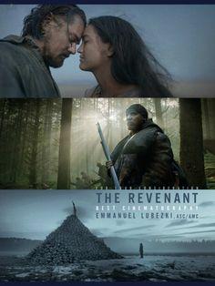 The Revenant - si quieren mantenerse despiertos, vean esta película y espectacular actuación de Leonardo Di Caprio! para mi, gran ganador de todos los premios de nuestra generación.