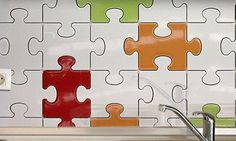 Un carrelage puzzle pour une déco design | Blog Déco Maison
