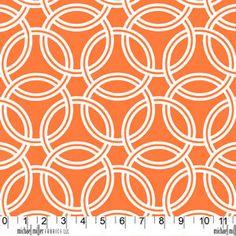 Fabric for kitchen curtains? - Trenna Travis - Bekko - Swirl in Tangerine