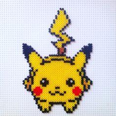 "70 Likes, 1 Comments - El Hada Vedre (@hadavedre) on Instagram: ""#pikachu #pikachurunning #pokemon #pokemongo #catchthemall #perler #perlerbeads #perlerbeadart…"""