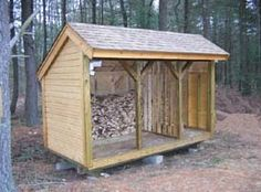 Jeri's Organizing & Decluttering News: Storing the Firewood: A Few Logs to A Few Cords