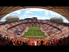 Video  Check Out This Time-Lapse Video Of Tennessee Fans Checkering Neyland  Stadium  3ed9b3024