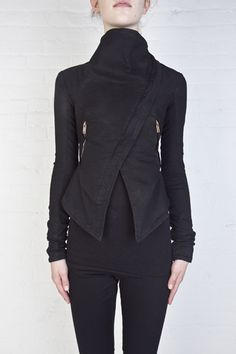 Gareth Pugh: i want to alter a seater or jacket with this in mind